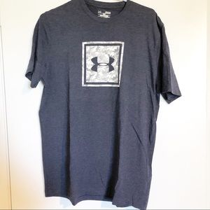 Under Armour Tee Shirt blue grey camo